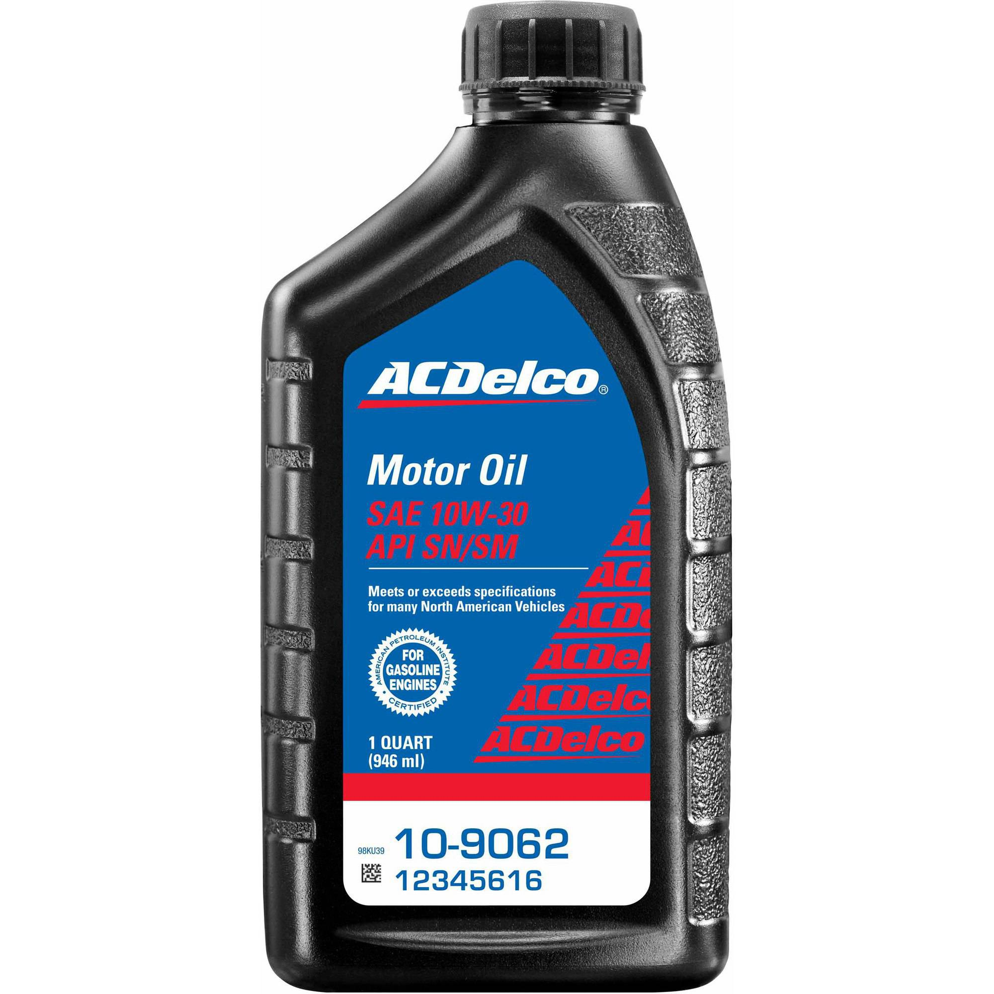 (2 Pack) ACDelco 10-9062 10W30 Motor Oil