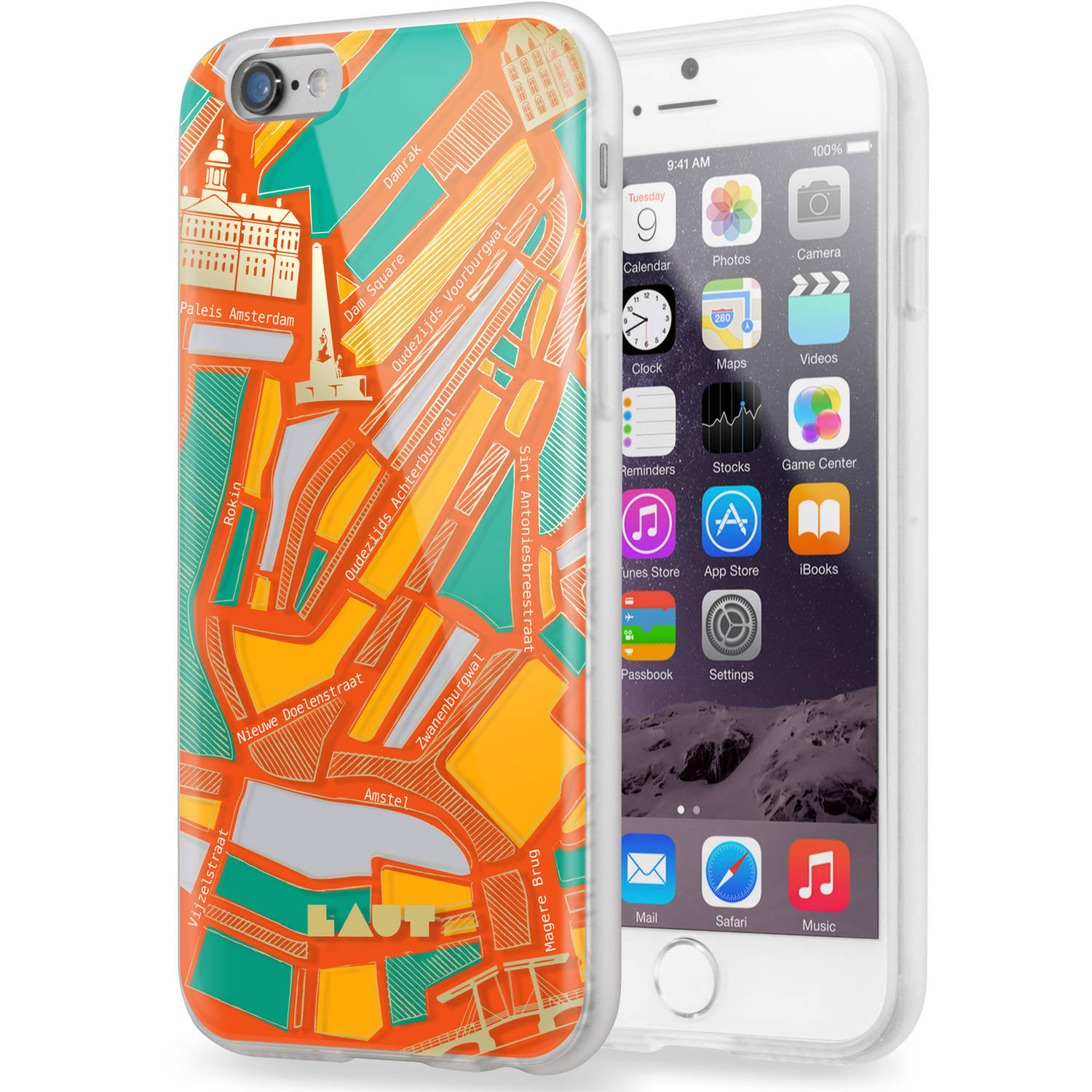 LAUT NOMAD Apple iPhone 6 & 6S Plastic Case