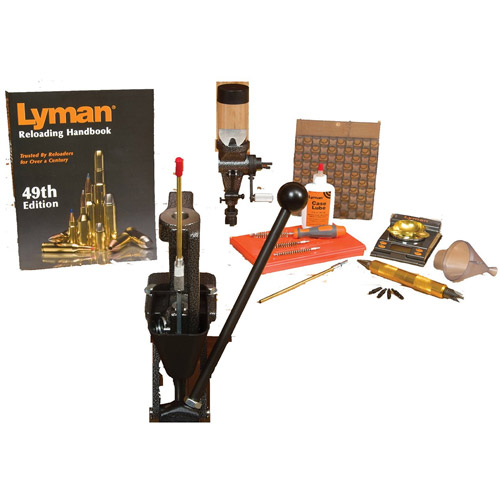Lyman Crusher Master Reloading Kit with 1500 Micro-Touch Scale by Lyman