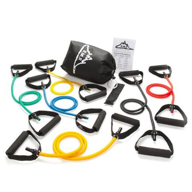 Black Mountain Products BMP 6L 6 Resistance Bands Set ...