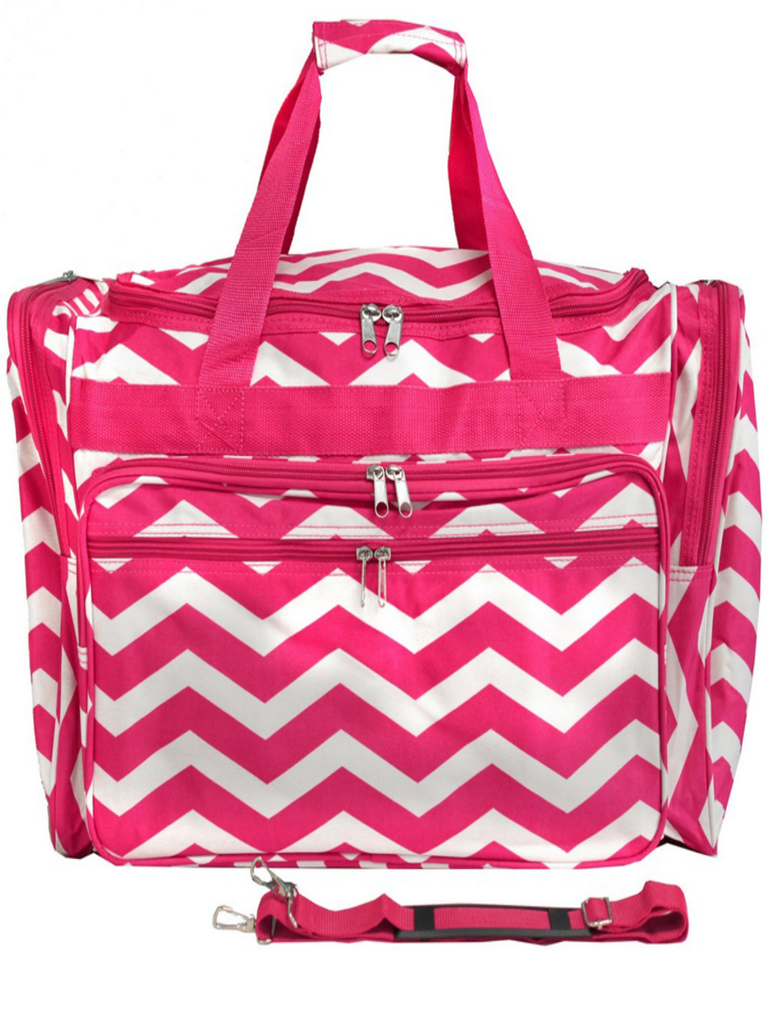 World Traveler Chevron 22 in. Travel Duffel Bag by World Traveler