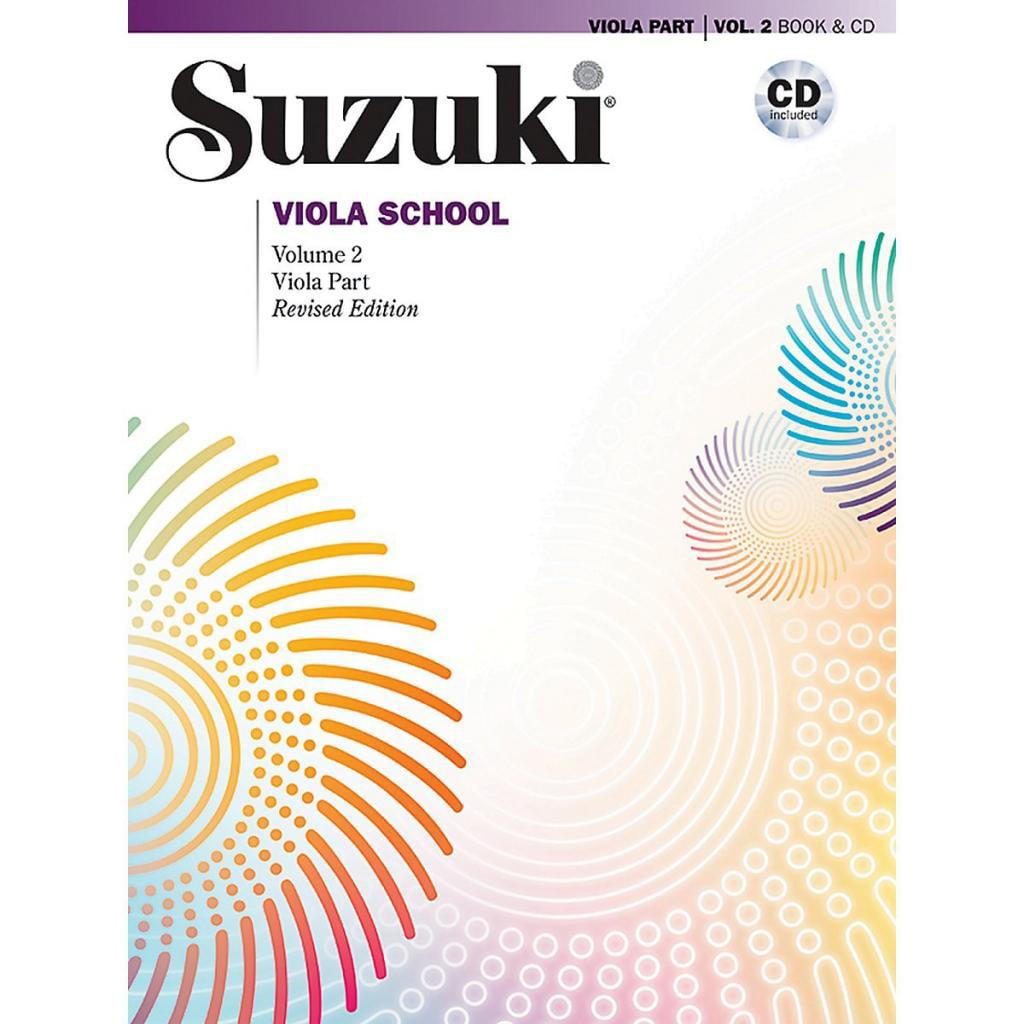 Alfred Suzuki Viola School Viola Part & CD, Volume 2 (Revised) by Alfred Publishing