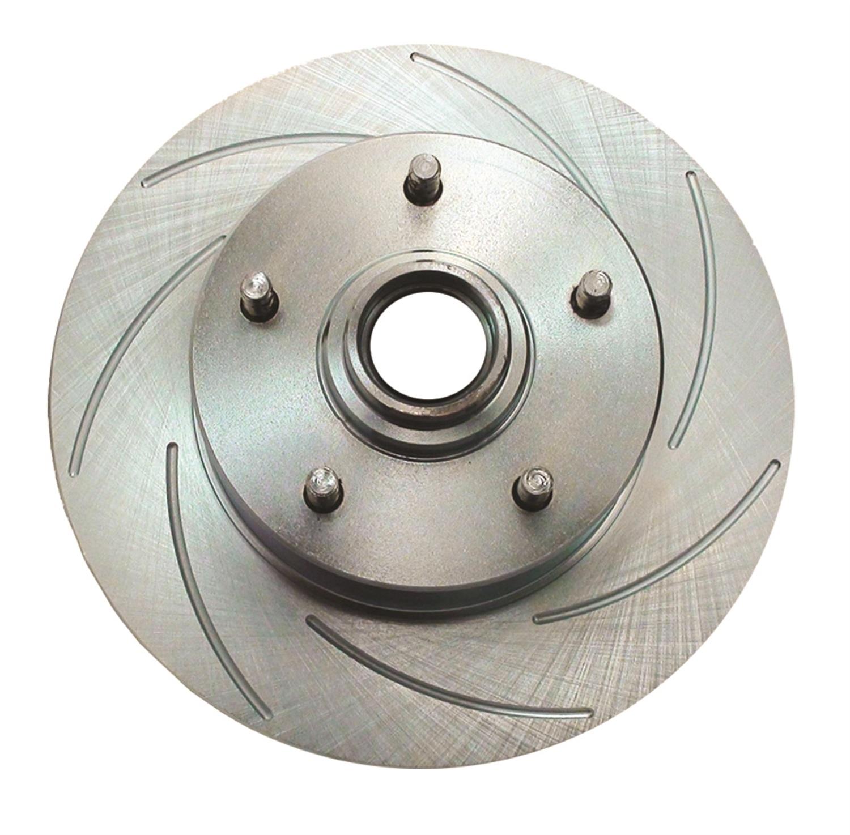 SSBC Performance Brakes 23378AA2R Big Bite Cross Drilled Rotors