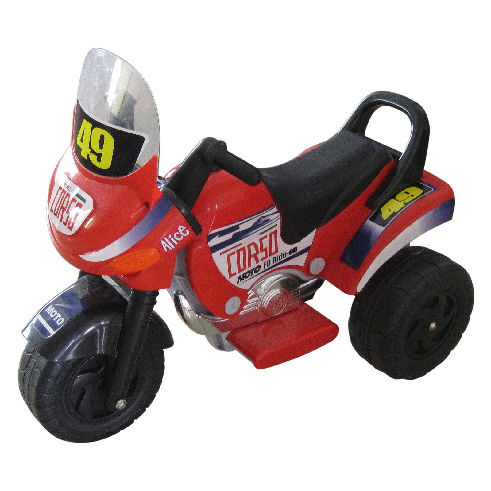 Merske Mini Racer Motorcycle Red by Merske LLC