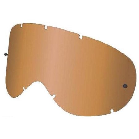 Dragon Alliance 228296425700 Replacement All Weather Lens for Vendetta Snow Goggles - (Amber Lens Goggles)