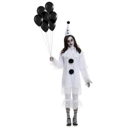 Womens Heartbroken Clown Costume - image 1 de 2