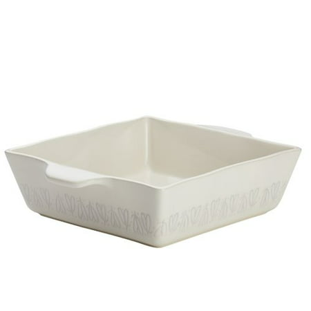 (Ayesha Curry Home Collection Stoneware Square Baker, 8
