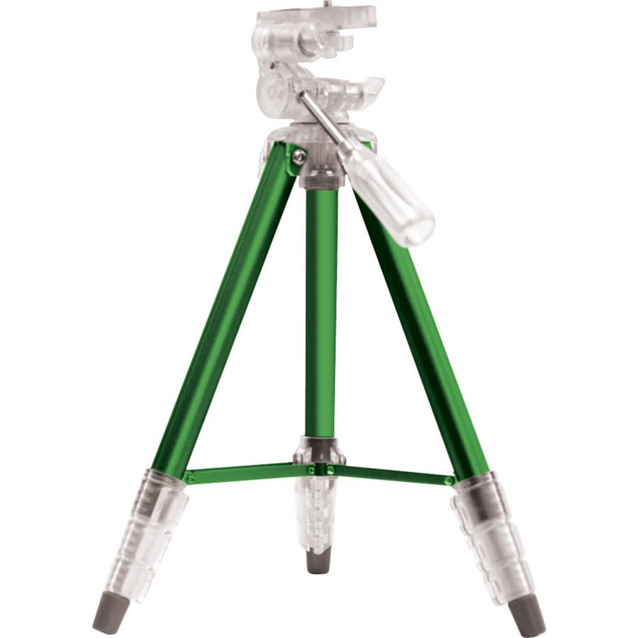 """Digipower 47"""" TRiPOPS Photo and Video Tripod, Green"""