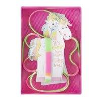 Way To Celebrate Valentine's Day Unicorn Bracelet Cards, 8 Count