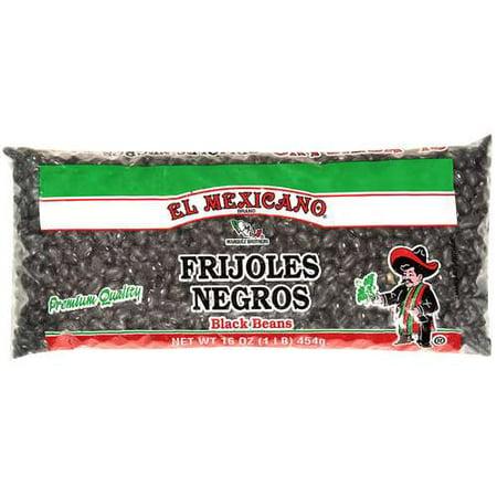 El Mexicano Black Beans Frijoles Negros, 16 oz - Walmart.com