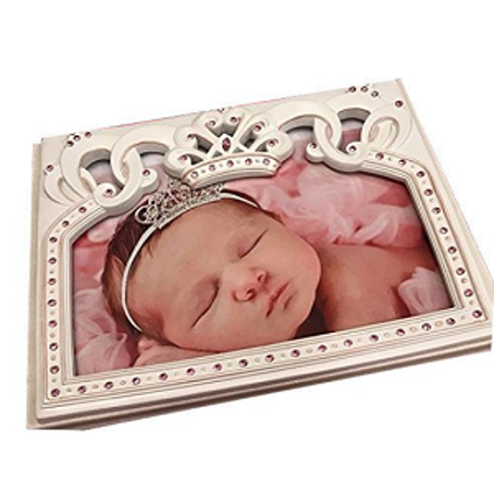 Baby Shower Pink Princess Guest Book Party Keepsake Gift - Baby Shower Guest Gifts