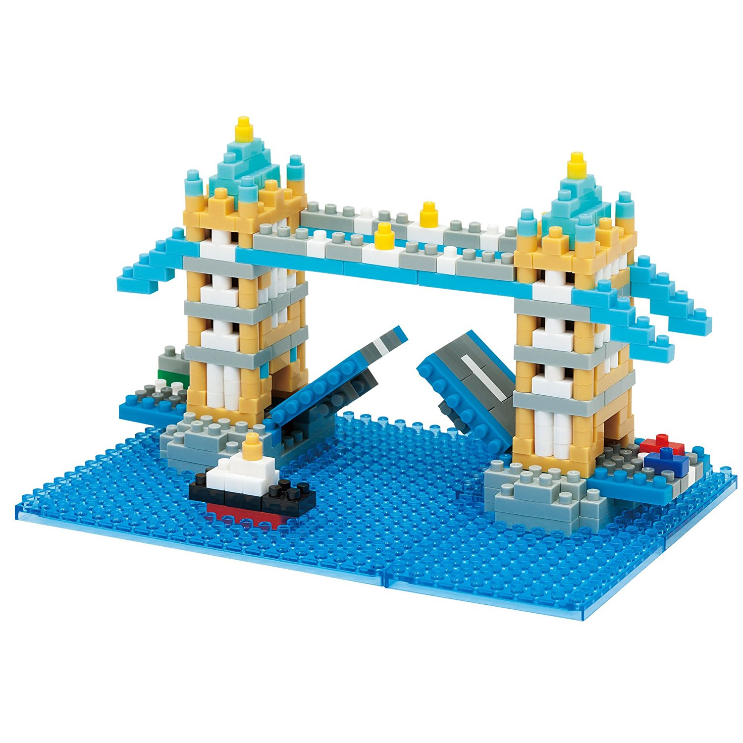 Nanoblock London Tower Bridge 3D Puzzle by nanoblock