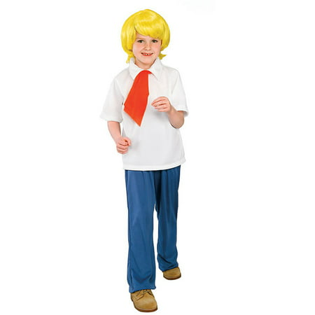 Child Fred Scooby Doo Costume Rubies 38962
