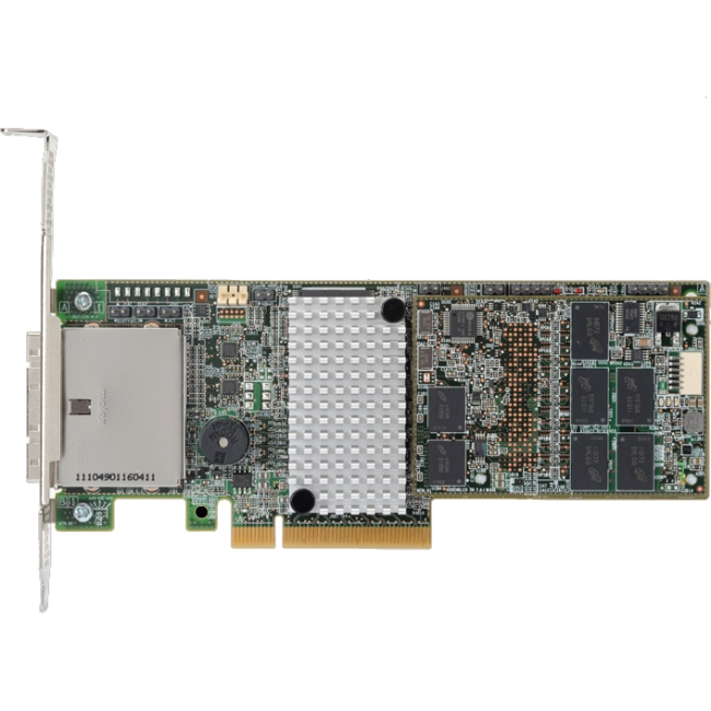 LSI Logic MegaRaid SAS 9285CV-8e Serial Attached SCSI (SAS) PCI Express 2.0 x8 Controller LSI00298