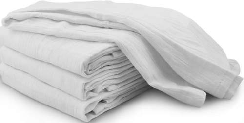 "GHP 120-Pcs 32""x28"" White Flour Sack Lint-Free Absorbent Cotton Cleaning Dish... by"