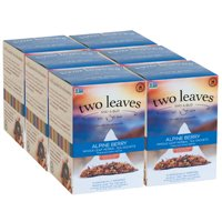 Two Leaves and a Bud, Inc., Alpine Berry Herbal Tea, 15 Count