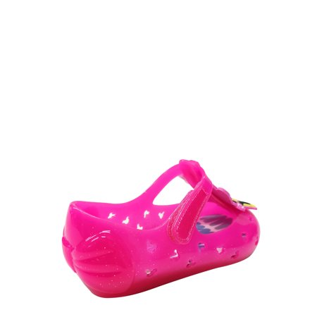 Disney Minnie Mouse & Daisy Duck BFFs Casual Jelly Shoe (Toddler Girls)