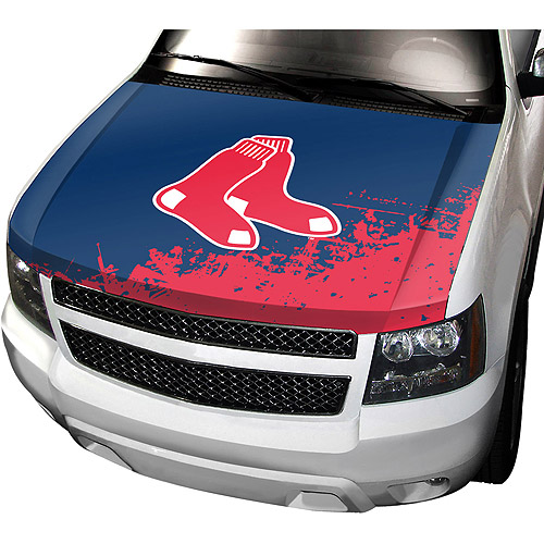 Boston Red Sox Auto Hood Cover