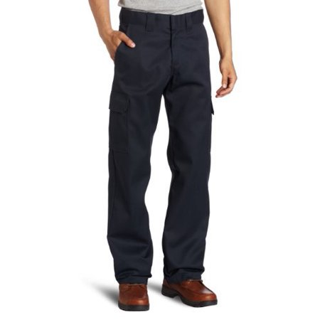 Relaxed Straight Leg Cargo Work Pant