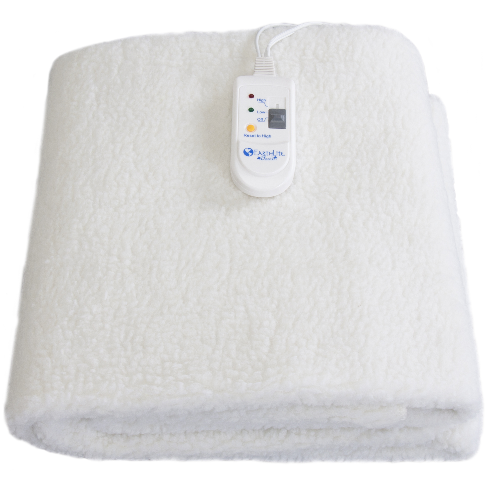 mattress warmer. earthlite fleece massage table warmer - pad, dual heat settings, elastic corner straps mattress