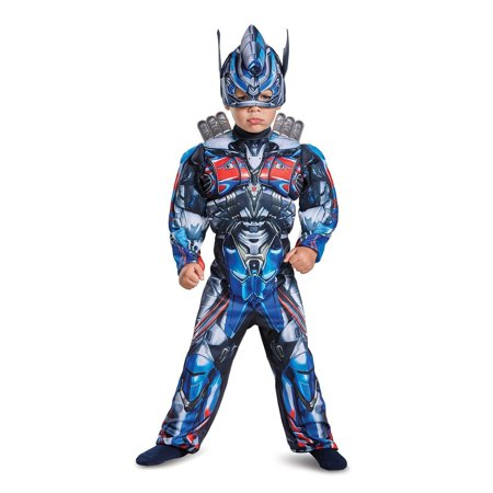 Transformers - Optimus Prime Toddler Muscle - Transforming Optimus Prime Halloween Costumes