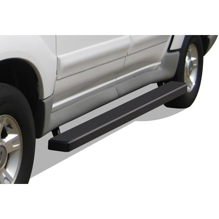 2001-2006 Ford Explorer Sport Trac Black Finish iStep 4 Inch Door to Door (Ford Explorer Sport Trac 4x4 For Sale)