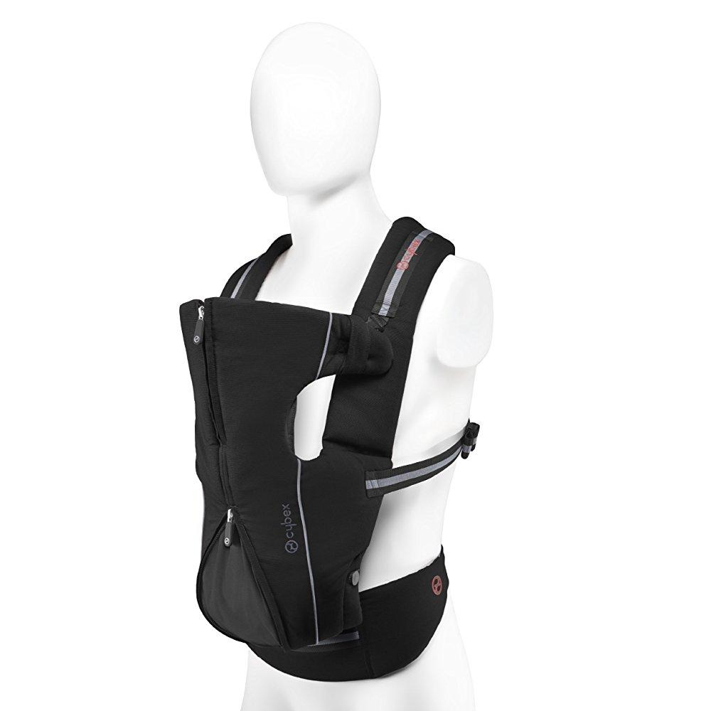 Avocent 2.go baby carrier - classic black - one size (dis...