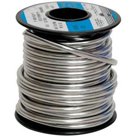 Silver Solder Wire (School Specialty Studio Pro Stained Glass Solder, 1/8 in Wire Dia, 60% Tin/40% Lead)