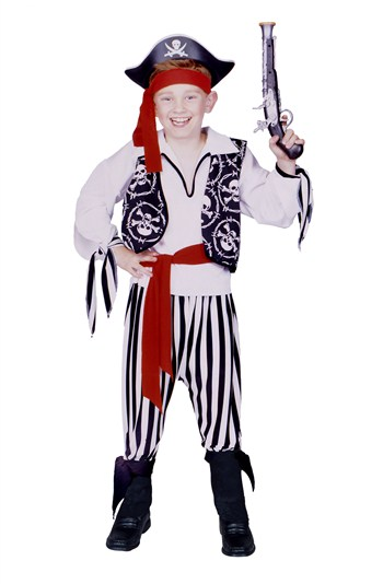Buccaneer Pirate Boy Costume by RG Costumes