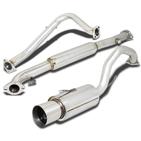 For 1995 to 1999 Mitsubishi Eclipse Stainless Steel Catback Exhaust System 4.5