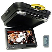 NITRO BMW-623 13.3  TFT Ceiling Mount, Flip-down Monitor with 45  L/R Swivel and Built-in DVD/CD Player