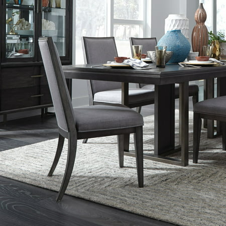 Magnussen Proximity Heights Contemporary Fully Upholstered Dining Side Chair - Set of 2