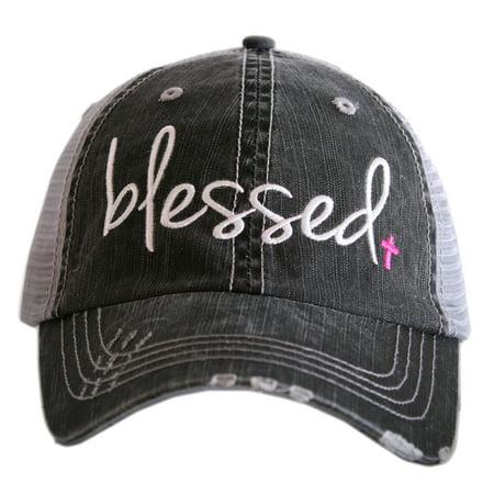 Womens Trucker Hat (Katydid Blessed Women's Trucker)