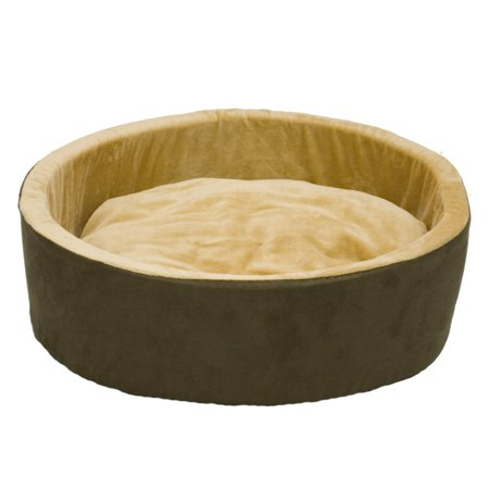 K&H Thermo Kitty Pet Cat Bed, Brown