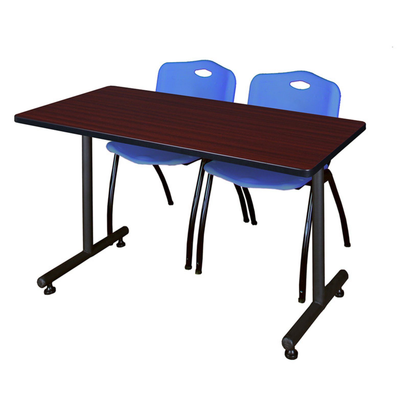Regency Kobe Training Table with 2 Stackable M Chairs