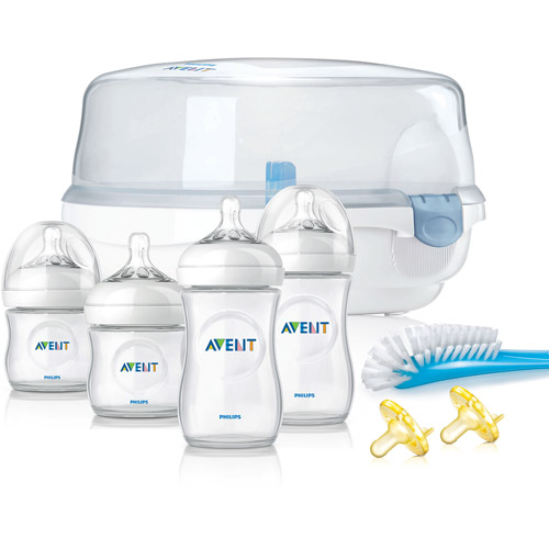 Philips Avent Natural Essentials Baby Bottle Gift Set, BPA-Free