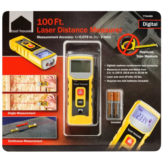Tool House Laser Distance Meter