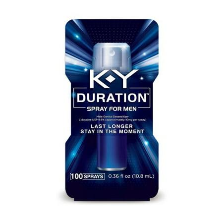 K-Y ® Durée ™ spray pour les hommes 0,16 fl. onces. Boîte