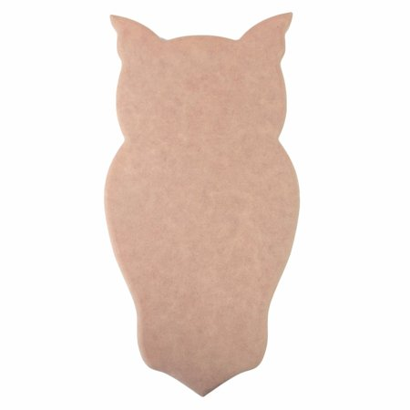Own Plaque Kit (Chi Omega Owl (W) Mascot Wood Plaque Board )