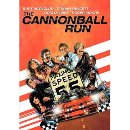 The Cannonball Run (DVD) (Sink To The Bottom Like A Cannonball)