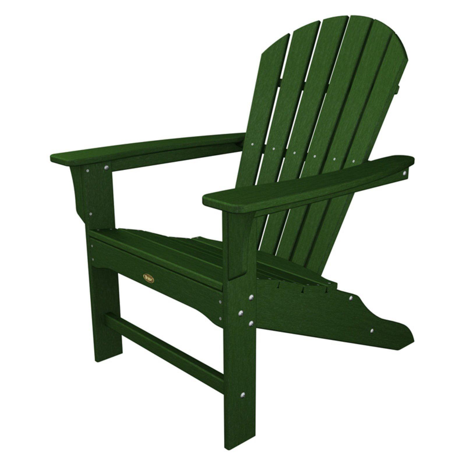 Trex outdoor furniture recycled plastic cape cod adirondack chair walmart com