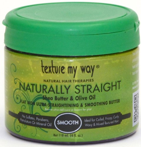 Texture My Way Flat Iron Ultra - Straightening & Smoothing Butter 4 oz. (Pack of 2)