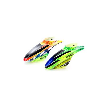 Blade Fiberglass Canopy, Green: Blade 500, BLH4081C