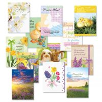 Easter Faith Cards Value Pack - Set of 12 (1 of each)