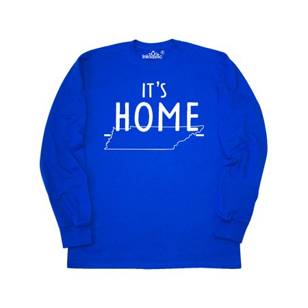 It's Home- State of Tennessee Outline Long Sleeve T-Shirt
