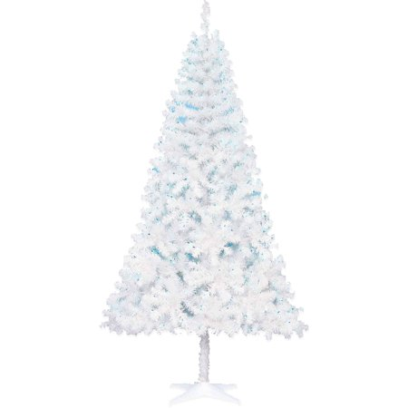holiday time 65ft madison pine white tree blue light - Christmas Tree With Blue Lights