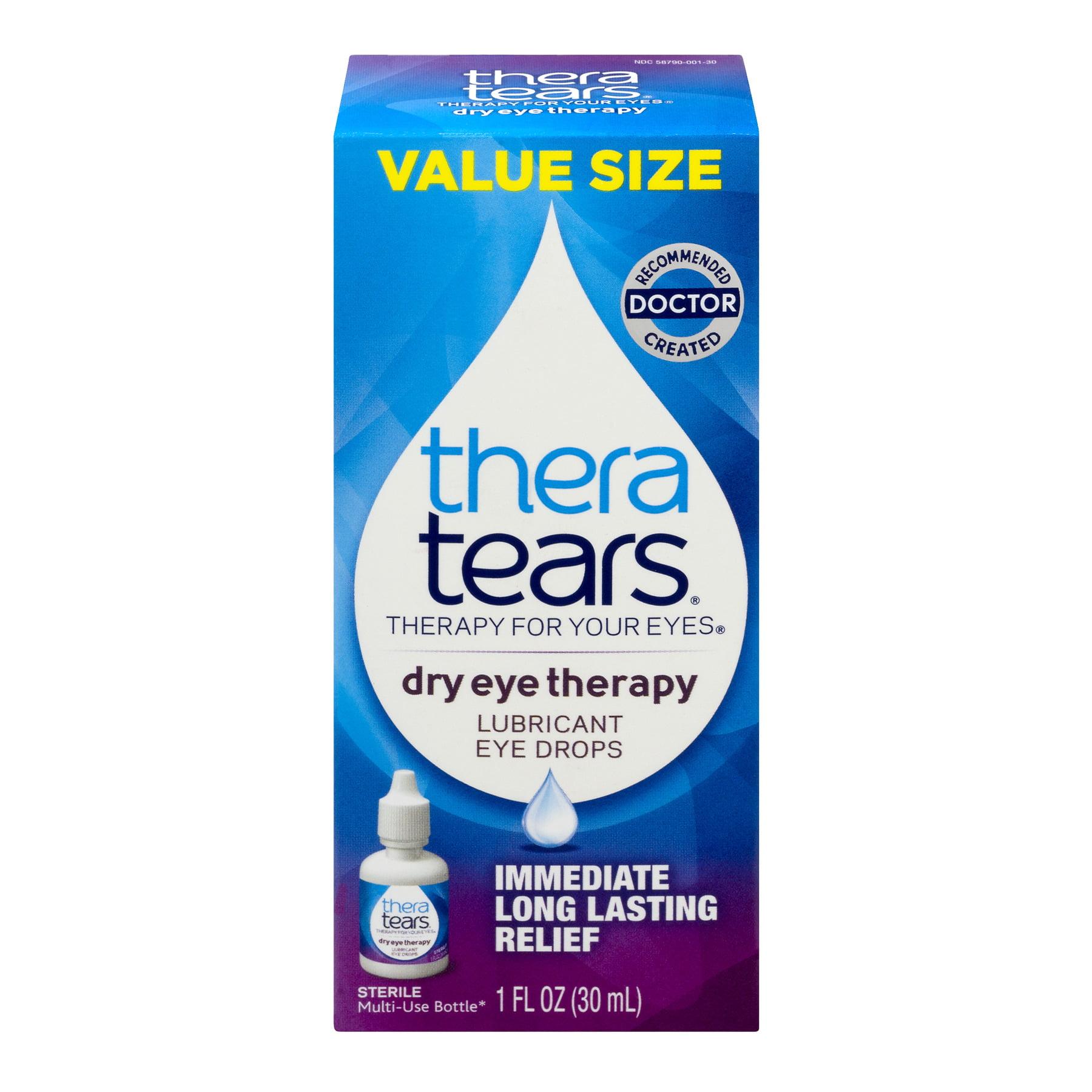 TheraTears Dry Eye Therapy Eye Drops, 1.0 FL OZ