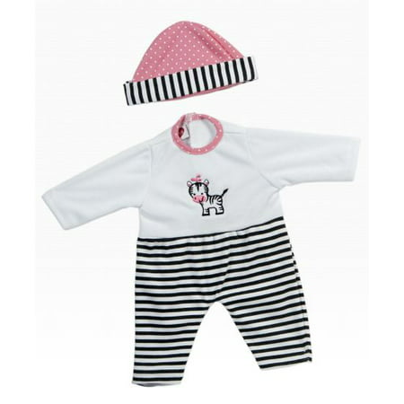 Giggletime Zebra Stripe Outfit for 15