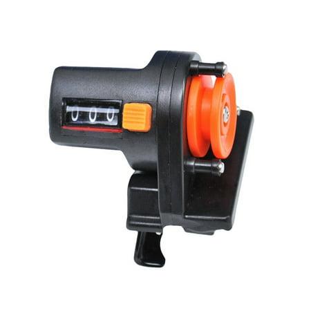 1Pcs Fishing Line Depth Finder Counter Fishing Tool Tackle Digital Display Length Gauge Counter Accurate Manual Meter