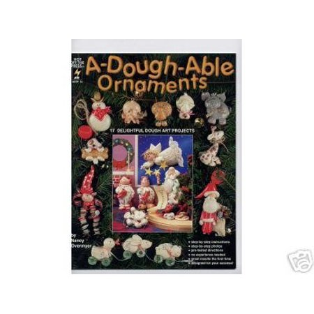 - A-Dough-Able Ornaments Clay Dough Art OOP NEW By Polymer Clay